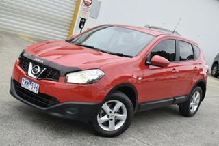 2013 Nissan Dualis J10W Series 4 MY13 ST Hatch X-tronic 2WD Red 6 Speed Constant Variable Hatchback.