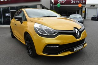 2016 Renault Clio IV B98 R.S. 200 EDC Sport Yellow 6 Speed Sports Automatic Dual Clutch Hatchback