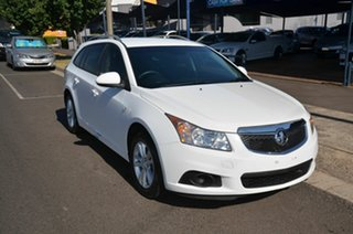 2014 Holden Cruze JH MY14 CD White 6 Speed Automatic Sportswagon.