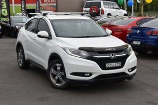 2016 Honda HR-V MY16 VTi White 1 Speed Constant Variable Hatchback