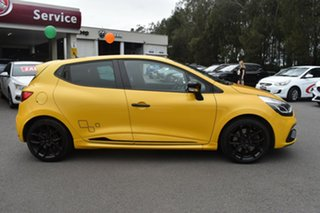 2016 Renault Clio IV B98 R.S. 200 EDC Sport Yellow 6 Speed Sports Automatic Dual Clutch Hatchback.