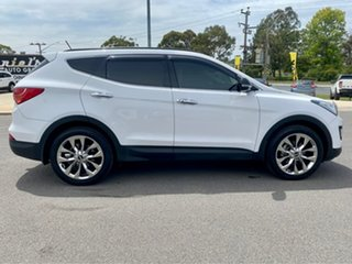 2014 Hyundai Santa Fe Highlander White Sports Automatic Wagon