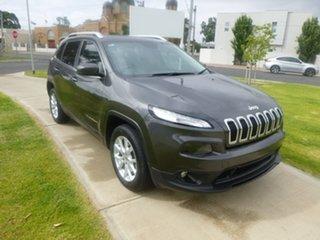 2014 Jeep Cherokee KL Longitude Grey Sports Automatic Wagon.