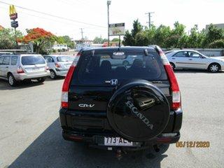 2004 Honda CR-V 2005 Upgrade (4x4) Sport Black 5 Speed Automatic Wagon