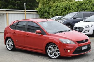 2010 Ford Focus LV XR5 Turbo Red 6 Speed Manual Hatchback.
