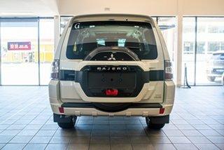 2020 Mitsubishi Pajero NX MY21 Exceed Warm White 5 Speed Sports Automatic Wagon.
