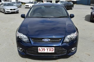 2012 Ford Falcon FG MK2 XR6T Blue 6 Speed Auto Seq Sportshift Sedan.