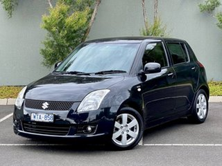 2008 Suzuki Swift RS415 S Black 5 Speed Manual Hatchback.