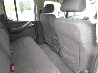2007 Nissan Navara D40 ST-X White Manual Utility