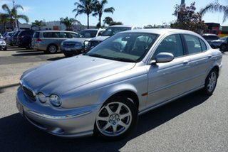 2002 Jaguar X-Type SE Silver 5 Speed Automatic Sedan.
