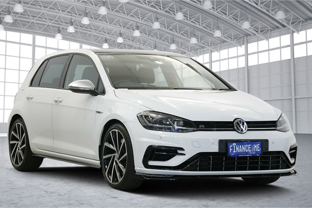Used Volkswagen Golf VII MY17 R DSG 4MOTION Victoria Park, 2016 Volkswagen Golf VII MY17 R DSG 4MOTION White 6 Speed Sports Automatic Dual Clutch Hatchback