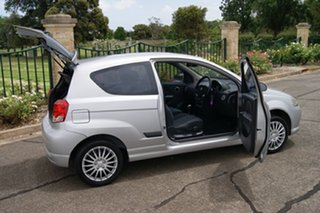2007 Holden Barina TK MY08 Silver 4 Speed Automatic Hatchback