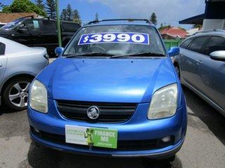 2002 Holden Cruze YG Blue 5 Speed Manual Wagon.