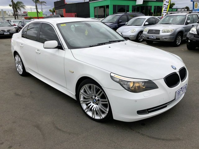 Used BMW 520d E60 MY09 Cheltenham, 2008 BMW 520d E60 MY09 6 Speed Auto Steptronic Sedan
