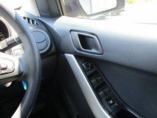 2015 Mazda BT-50 UP0YF1 XT 4x2 Hi-Rider Black 6 Speed Sports Automatic Utility