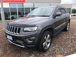 2015 Jeep Grand Cherokee WK MY15 Limited Grey 8 Speed Sports Automatic Wagon.