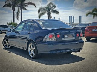 2003 Toyota Altezza SXE10 RS200 Blue Manual Sedan