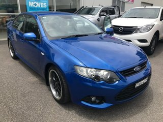2011 Ford Falcon FG XR6 Blue 6 Speed Sports Automatic Sedan.