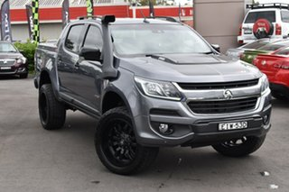 2017 Holden Colorado RG MY17 Z71 Pickup Crew Cab Grey 6 Speed Manual Utility.