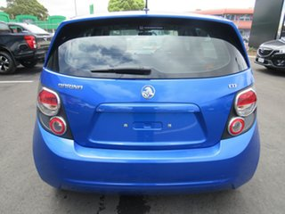 2012 Holden Barina TM Blue 6 Speed Automatic Hatchback
