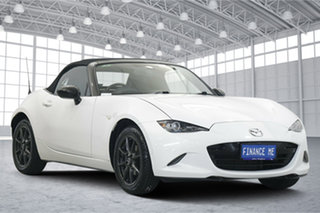 2015 Mazda MX-5 ND GT SKYACTIV-MT White 6 Speed Manual Roadster.