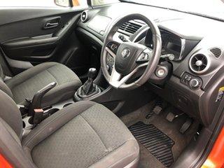 2015 Holden Trax TJ MY15 LS Orange Rock 5 Speed Manual Wagon