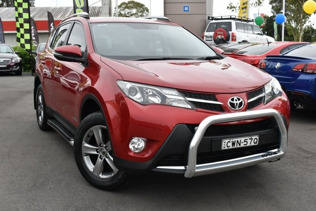 Used Toyota RAV4 ALA49R MY14 GXL AWD Tuggerah, 2014 Toyota RAV4 ALA49R MY14 GXL AWD Red 6 Speed Sports Automatic Wagon