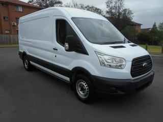 2014 Ford Transit VO MY14.5 350L LWB Mid Roof White 6 Speed Manual Van.