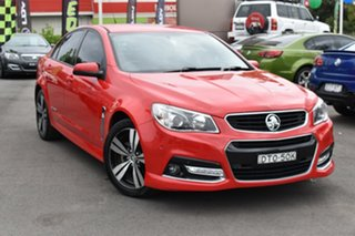 2014 Holden Commodore VF MY14 SV6 Storm Red 6 Speed Manual Sedan.