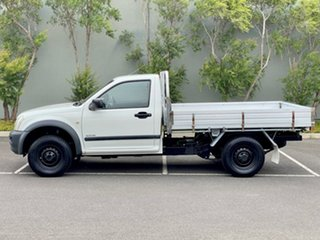 2004 Holden Rodeo RA LX 4x2 White 4 Speed Automatic Cab Chassis