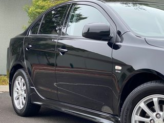 2010 Mitsubishi Lancer CJ MY10 Activ Black 6 Speed Constant Variable Sedan