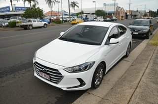 2016 Hyundai Elantra AD Elite 2.0 MPI White 6 Speed Automatic Sedan