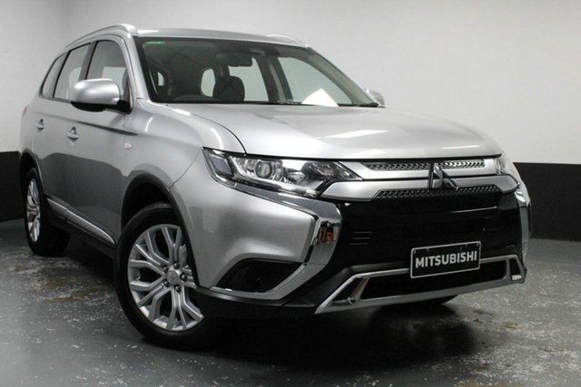 Used Mitsubishi Outlander ZL MY19 ES AWD Hamilton, 2019 Mitsubishi Outlander ZL MY19 ES AWD Silver 6 Speed Constant Variable Wagon