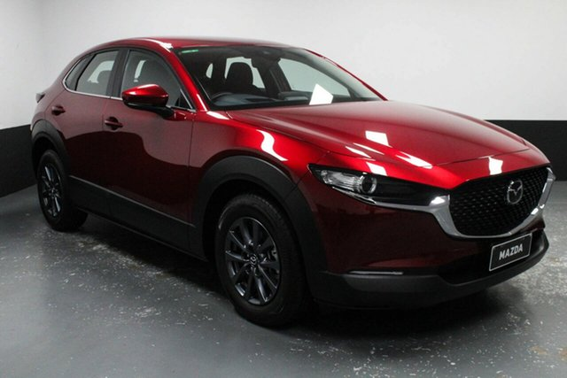 Used Mazda CX-30 DM2W7A G20 SKYACTIV-Drive Pure Cardiff, 2020 Mazda CX-30 DM2W7A G20 SKYACTIV-Drive Pure Red 6 Speed Sports Automatic Wagon