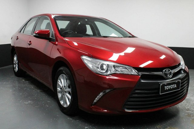 Used Toyota Camry ASV50R Altise Cardiff, 2015 Toyota Camry ASV50R Altise Red 6 Speed Sports Automatic Sedan