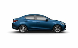 2020 Mazda 2 DL2SAA G15 SKYACTIV-Drive Pure Blue 6 Speed Sports Automatic Sedan.
