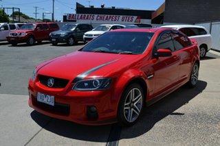 2011 Holden Commodore VE II MY12 SV6 Red 6 Speed Automatic Sedan.