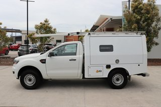2016 Ford Ranger PX MkII XL Hi-Rider White 6 speed Automatic Cab Chassis.