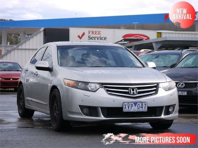 Used Honda Accord Euro CU MY10 Luxury Navi Cheltenham, 2010 Honda Accord Euro CU MY10 Luxury Navi Silver 5 Speed Automatic Sedan