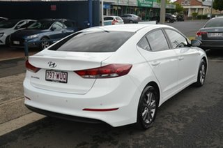 2016 Hyundai Elantra AD Elite 2.0 MPI White 6 Speed Automatic Sedan.