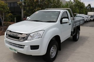 2014 Isuzu D-MAX MY14 SX White 5 speed Automatic Cab Chassis.