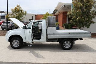 2014 Isuzu D-MAX MY14 SX White 5 speed Automatic Cab Chassis