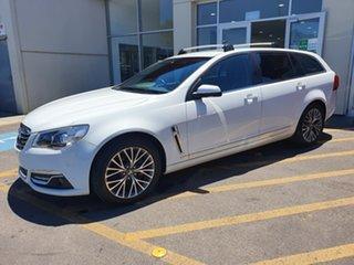 2015 Holden Calais VF MY15 Sportwagon White 6 Speed Sports Automatic Wagon.