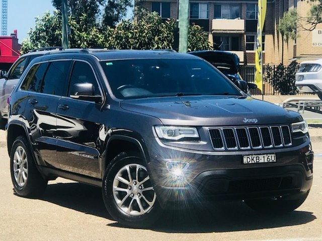 Used Jeep Grand Cherokee WK MY17 Laredo Liverpool, 2016 Jeep Grand Cherokee WK MY17 Laredo Grey 8 Speed Sports Automatic Wagon