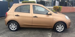 2012 Nissan Micra K13 ST Gold 4 Speed Automatic Hatchback.