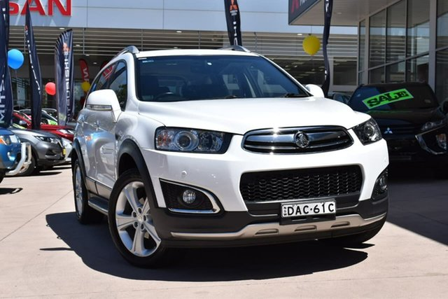 Used Holden Captiva CG MY16 LTZ AWD Blacktown, 2015 Holden Captiva CG MY16 LTZ AWD White 6 Speed Sports Automatic Wagon