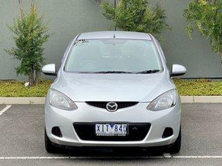 2009 Mazda 2 DE10Y1 Neo Silver 4 Speed Automatic Hatchback.