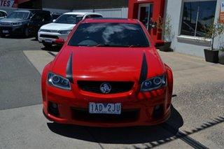 2011 Holden Commodore VE II MY12 SV6 Red 6 Speed Automatic Sedan