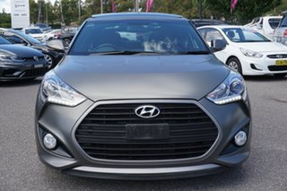 2016 Hyundai Veloster FS4 Series II SR Coupe Turbo Grey 6 Speed Manual Hatchback.
