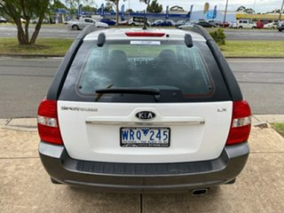 2008 Kia Sportage KM2 LX White 4 Speed Automatic Wagon